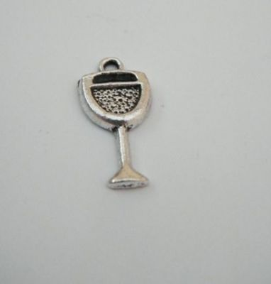 Wine Glass Personalised Wine Glass Charm - Full Bead Style